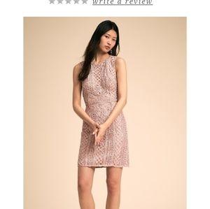 BHLDN quartz dress -rose